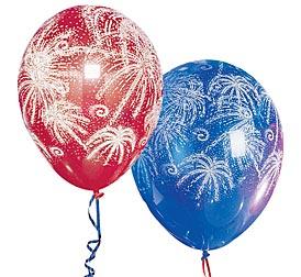 Fireworks Balloons